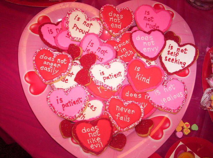 Valentine Sugar cookies | Valentine's Day | Pinterest