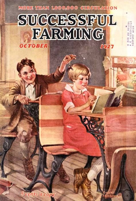 """Successful Farming""Oct. 1927...Russell Sambrook..."