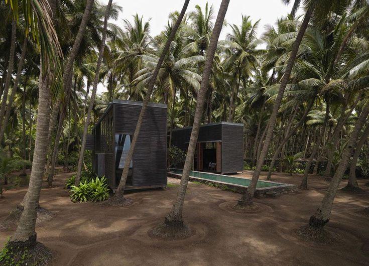 Studio mumbai palmyra house outdoor living pinterest