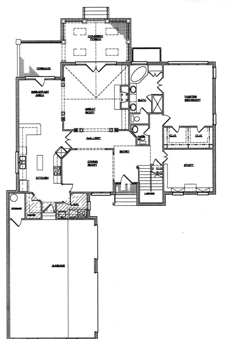 Floor plan feng shui pinterest for Good feng shui house floor plan