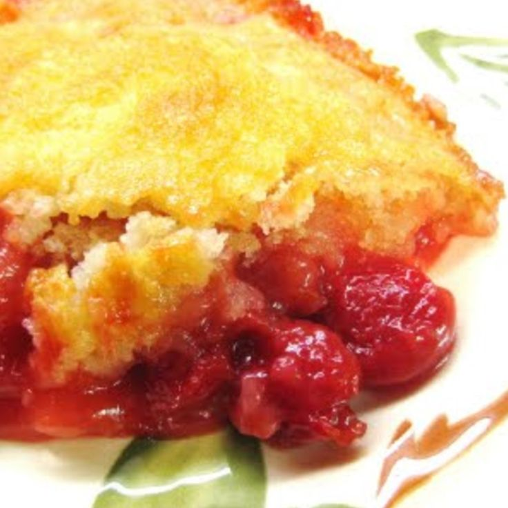 Here's the FRESH CHERRY COBBLER Recipe | Just A Pinch Recipes