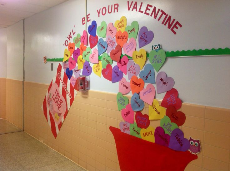 valentine bulletin boards