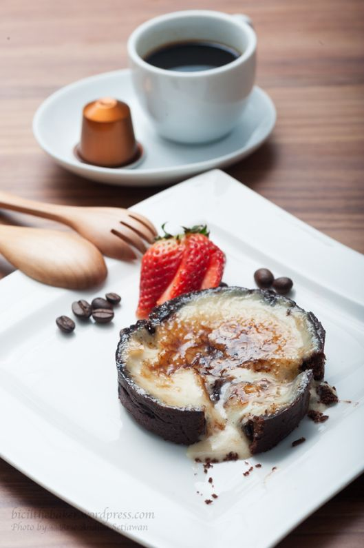 Chocolate and Espresso Creme Brulee Tart   Want to Try   Pinterest