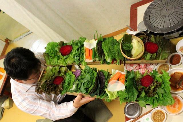 Korean wrap end all. 종로 원조쌈밥집 | Food | Pinterest