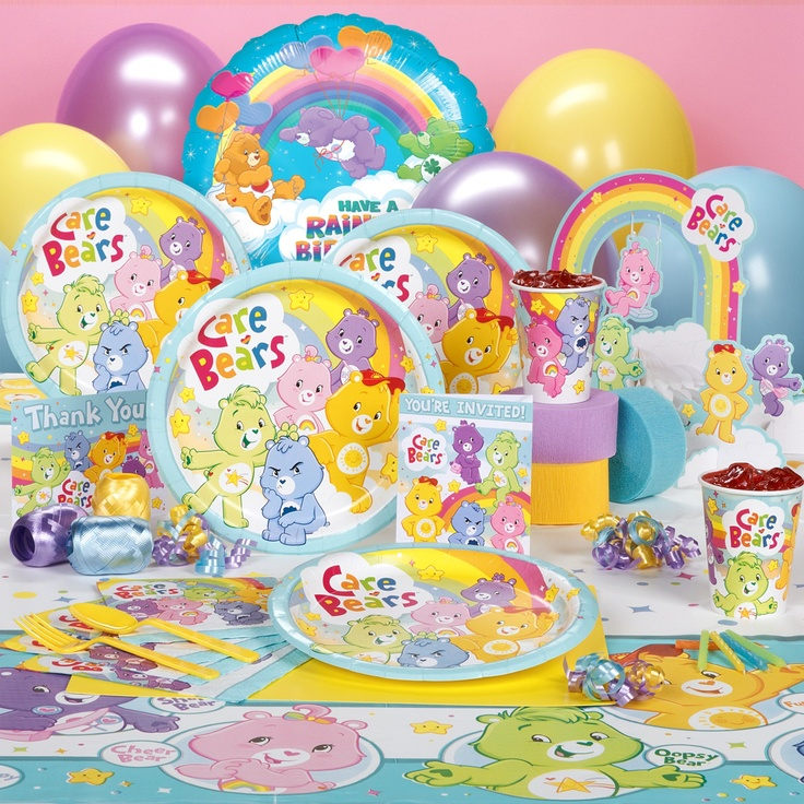 Care Bear Cake Decorations