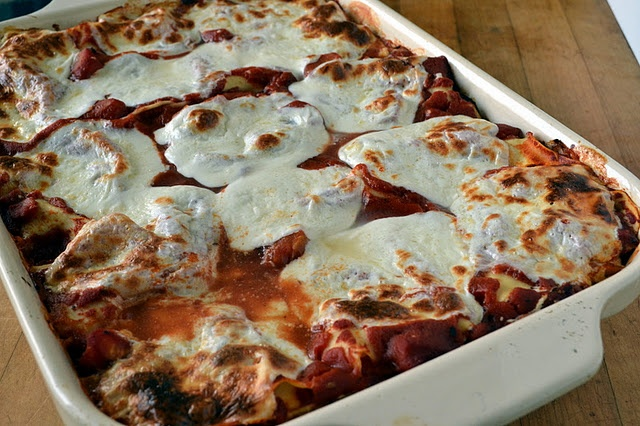 Roasted Winter Vegetable Lasagna | Dinner Ideas | Pinterest
