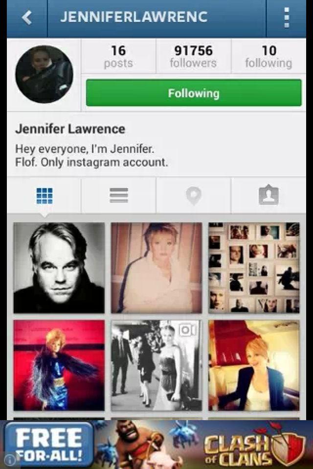 Jennifer Lawrence Inst...
