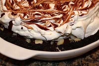 Chocolate Black-Bottom Pie | Dessert ideas | Pinterest