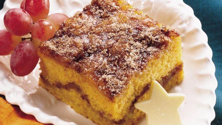 Pumpkin-Maple Coffee Cake | Recipe