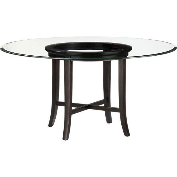 Dining table crate barrel halo dining table - Crate and barrel kitchen tables ...