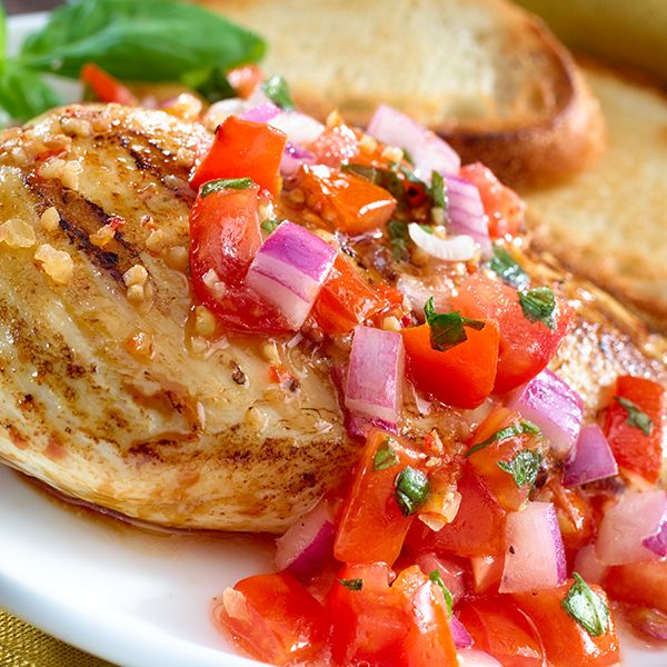 More like this: marinated chicken , bruschetta and healthy chicken .