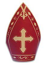 St. Nicholas Decoration: Free Printable Miter Treat Cup