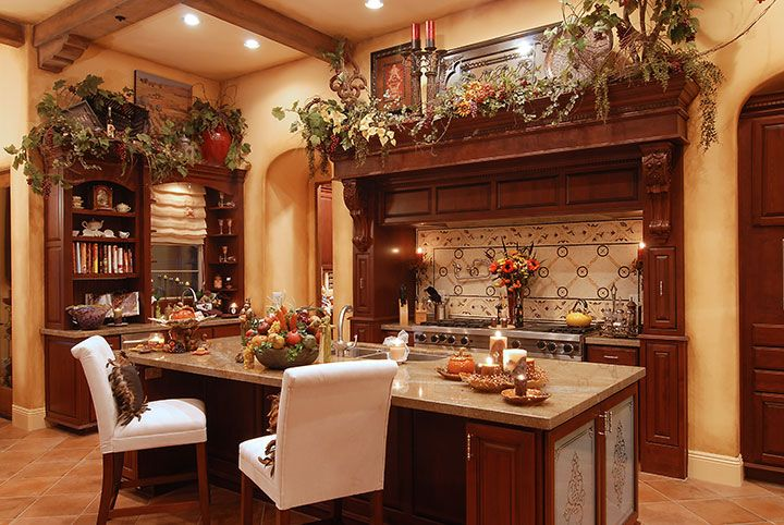 Custom tuscan kitchen accessories tuscan decor pinterest Old world tuscan kitchen designs