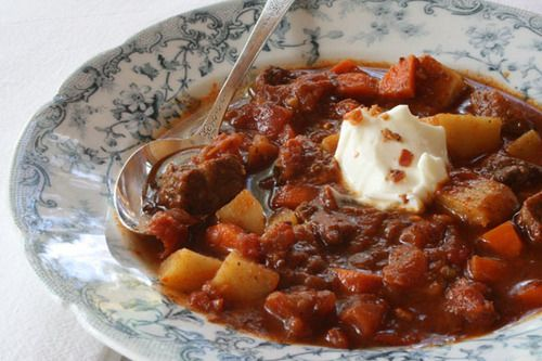 One Pot Hungarian Beef Stew | Soups and Stews | Pinterest