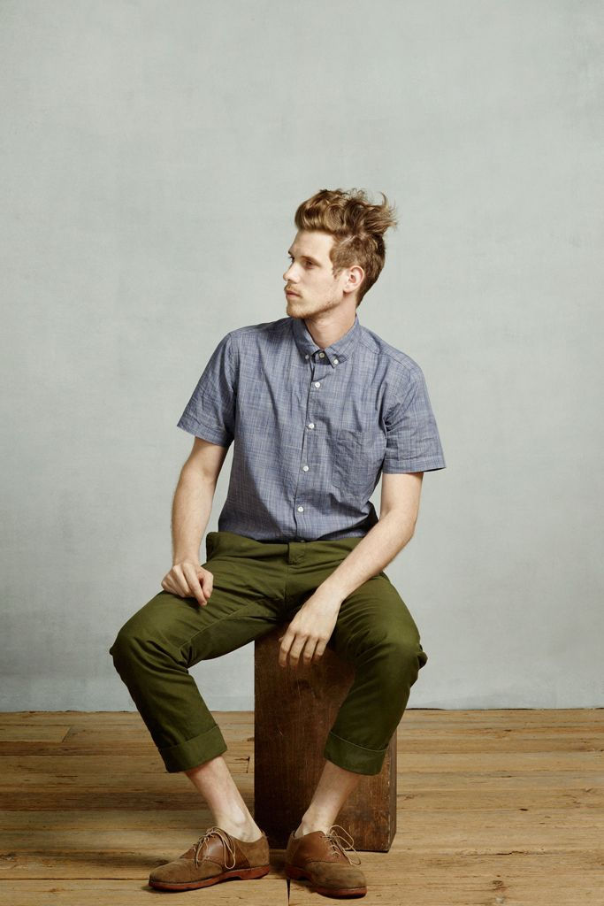 Denim olive dear santa pinterest for What color shirt goes with green pants
