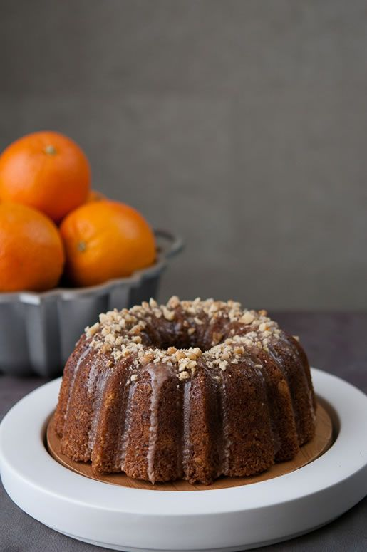 Orange Walnut Olive Oil Cake | Cakes from scratch | Pinterest