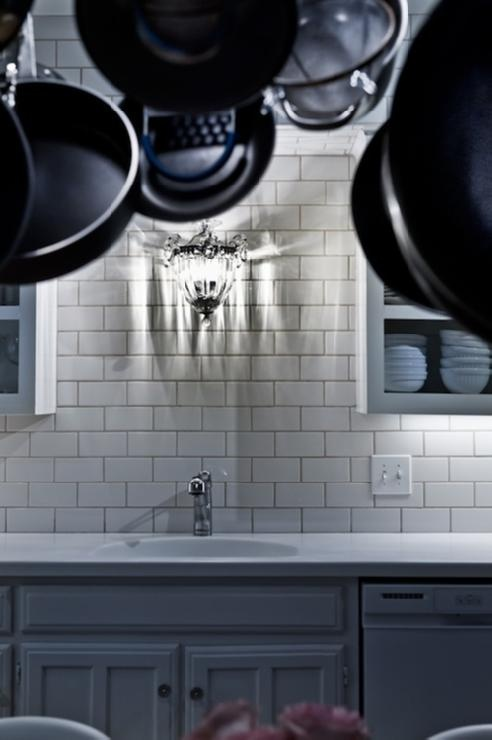 Sink On Windowless Wall Kitchen Pinterest