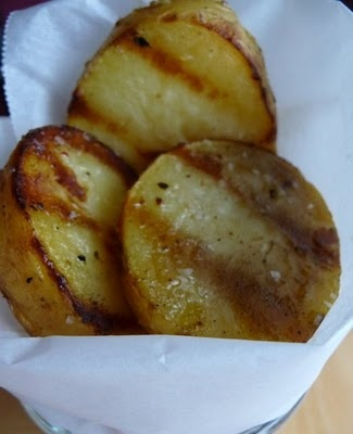 grilled salt and vinegar potatoes. I'm sure that I'm the only one in ...