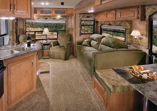 2011 Keystone Cougar Fifth Wheel RV Interiors Pinterest