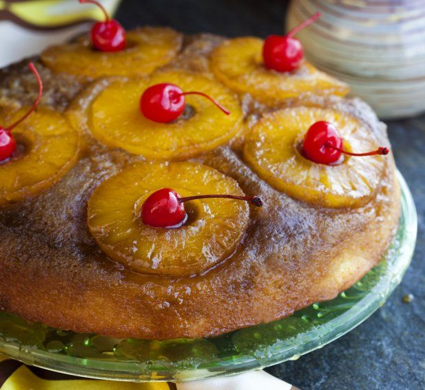Pineapple Express Upside Down Cake | Yummy | Pinterest
