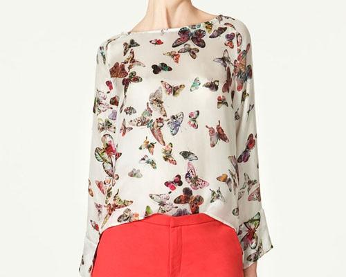 Zara Butterfly Blouse 114
