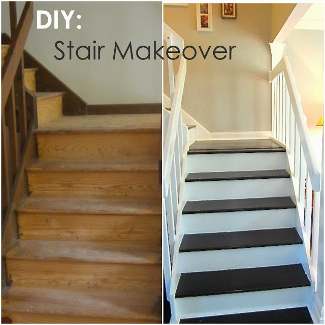diy stair makeover for the home pinterest