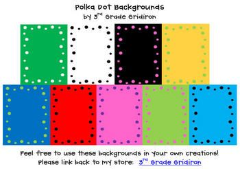 Spice up your products with these 40 different polka dots backgrounds! You can use for personal or commercial products.  There are several differen...