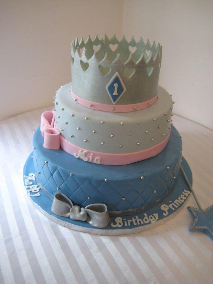 Princess Crown Cake  Birthday Cakes  Pinterest