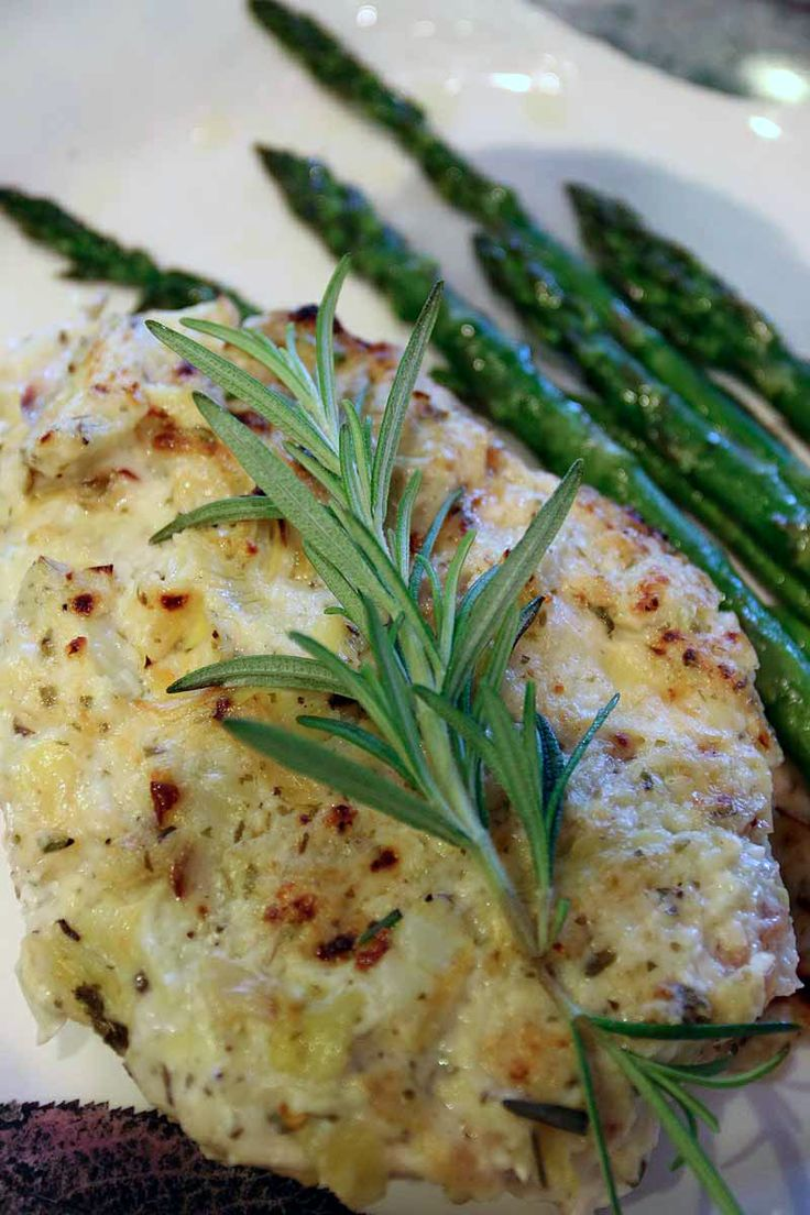 Artichoke Chicken Bake * This one is a little different than what I ...