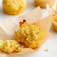 Cheddar leek muffins | Food | Pinterest