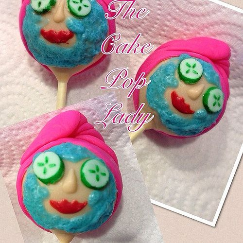 Spa Cake Pops by The Cake Pop Lady