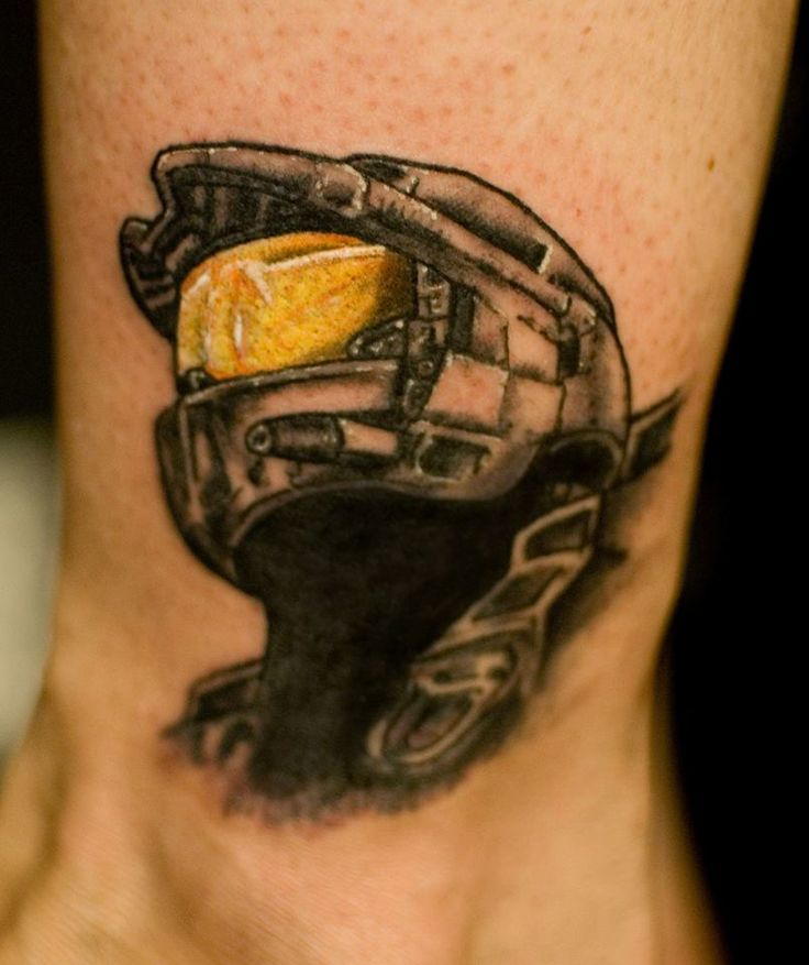 master chief cover up by artist yanick sasseville at mile end tattoos montreal https www. Black Bedroom Furniture Sets. Home Design Ideas