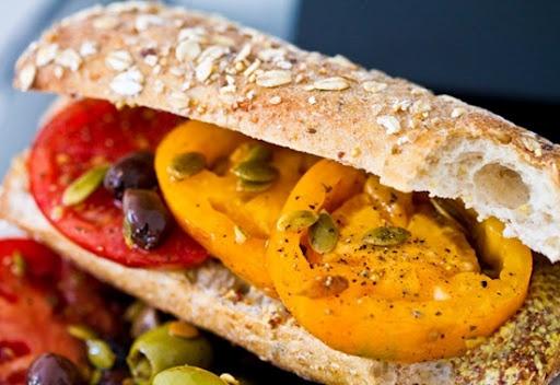 heirloom-tomato-sandwich | HEALTHY FOOD! | Pinterest
