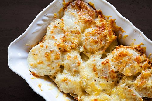 Turnip Gratin - I'm trying to like turnips so I'm going to make this ...