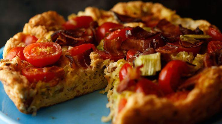 BLT Soufflé Frittata Recipe | Rachael Ray Show | Weekdays at 11am on ...