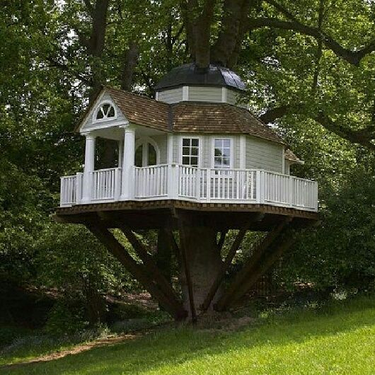 Best Tree House Ever Maisonnettes Pinterest