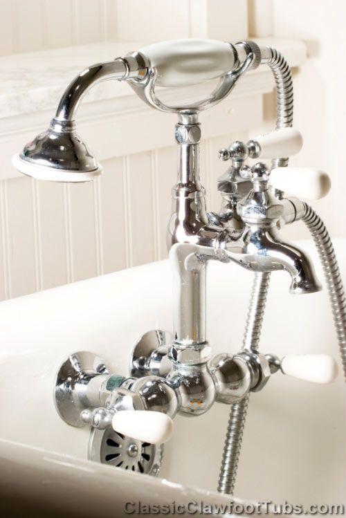 Antique Faucet Clawfoot Bathtubs Pinterest