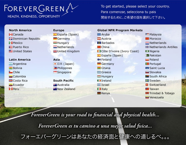 Find out about healthy living with hemp!  Are you in one of the 53 countries this is available? Find and click your flag now...    http://2169136.myforevergreen.org