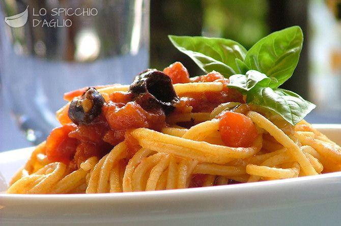 Pasta al pomodoro fresco | I ended up having a food-board too! :) | P ...