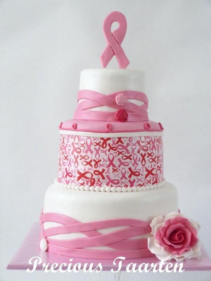Pink Ribbon Cake Design : Pink Ribbon Breast Cancer Cake Ideas 48943 Pink Ribbon Cak