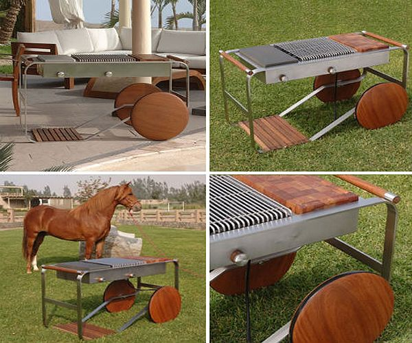 Amazing Outdoor BBQ Grill Designs