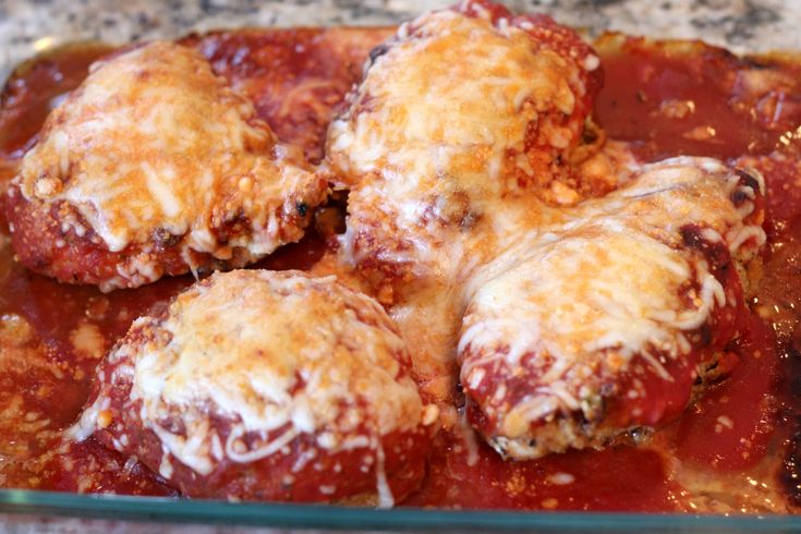Light Chicken Parmesan - You would never know that this was low-fat ...