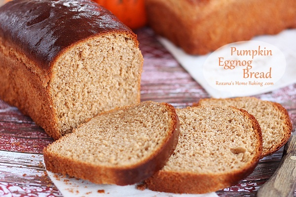 Pumpkin Eggnog Bread | Cooking | Pinterest