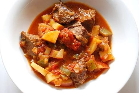 Carne Guisada (Mexican Beef Stew) | Hail the Chickens | Pinterest