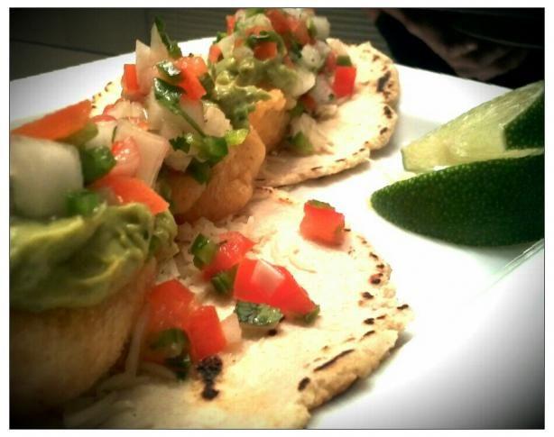 Fish Tacos - Baja Style   Recipe