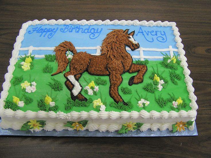 horse Birthday Cakes Party ideas - Birthdays Pinterest
