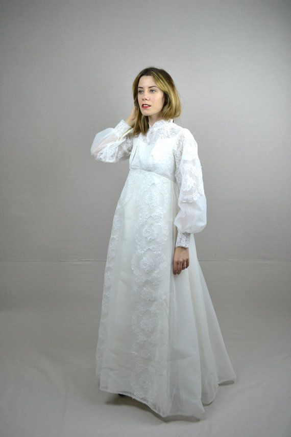 70s wedding dress 1970s wedding dress floriana for 1970 s style wedding dresses