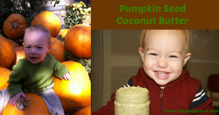 pumpkin seed coconut butter (pepitas and coconut milk)