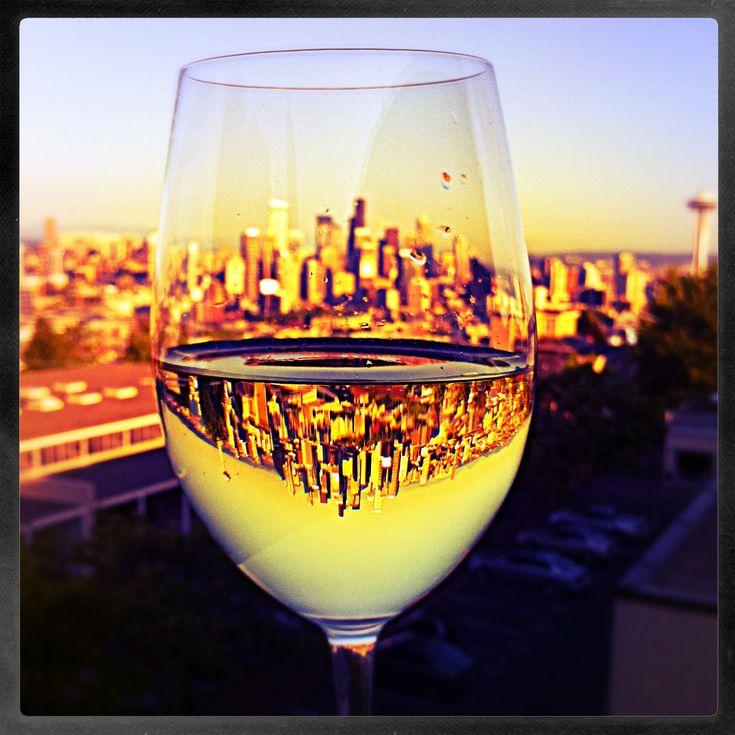 Seattle Chardonnay Sunset
