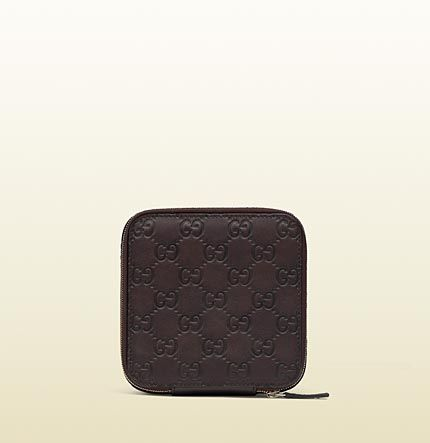 guccissima leather jewelry case 296916 AA61G 2019 $840 Gucci